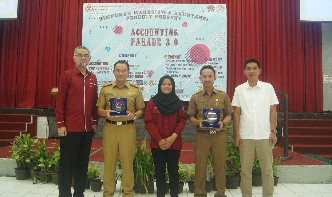 Himpunan Mahasiswa Akutansi USB YPKP mengadakan Accounting Parade 3.0