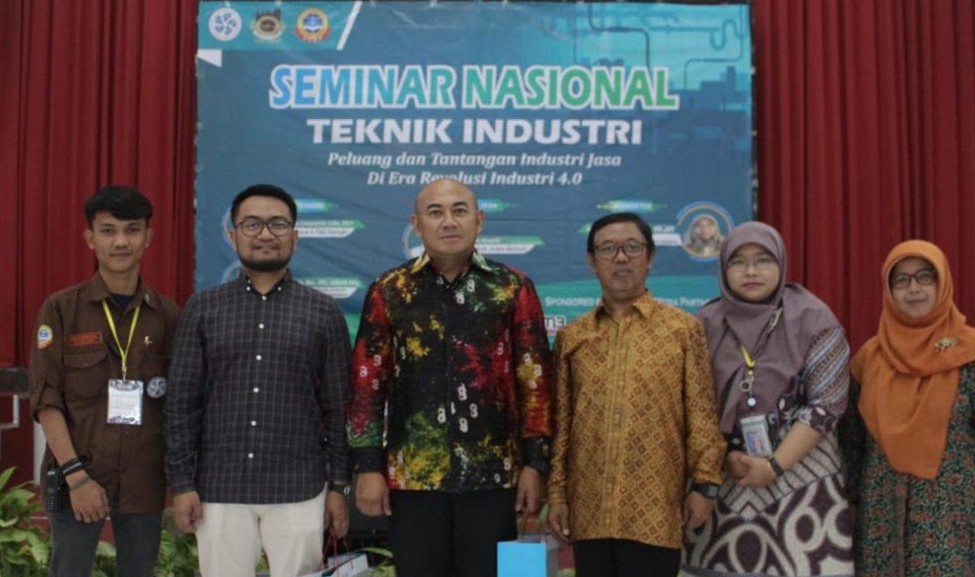 """Seminar Nasional Teknik Industri USB YPKP """"Peluang Dan Tangtangan Industri Di Era Revolusi Industri 4.0"""""""